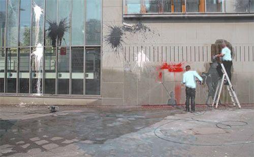 fassadenreinigung-graffiti-entfernung-graffitireinigung Fassadenreinigung
