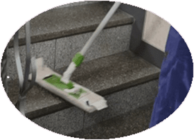 treppenhausreinigung-treppen-reinigung-hauswart-hauswartung Büroreinigung & Gebäudereinigung